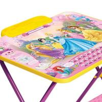 Стол-стул Принцесса Disney (стол 570+пен+стул мягк) Д2П
