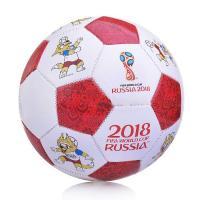 FIFA 2018 футбольный мяч  GOAL 1,6мм,shiny PVC , 280-300гр, размер 5(23см) Т 11659/Т 11660