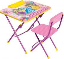 Д3П Стол-стул Принцесса Disney 3 (стол 570+пен+стул мягк)