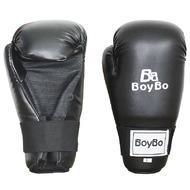 Перчатки GTF/ITF  Boybo к/з черные XL