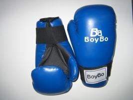 Перчатки GTF/ITF  Boybo к/з синий S
