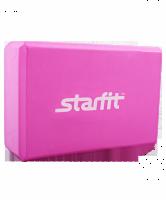 Блок для йоги STARFIT FA-101 EVA, розовый 1/50