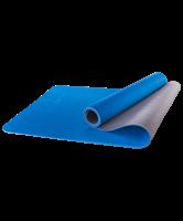 Коврик для йоги  61*173 двухцветный, армированный EVA 16