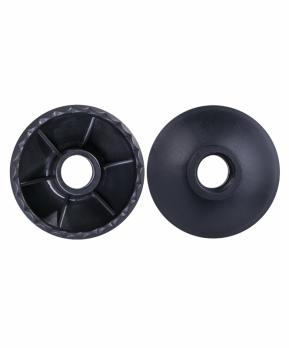 Комплект колец ограничительных для скандинавских палок BERGER, 2 шт., чёрный