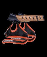Комплект темляков для скандинавских палок BERGER, 2 шт., чёрный/оранжевый