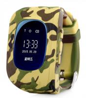 Часы детские Smart Baby Watch Q50 ХАККИ