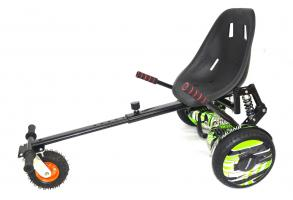 Гирокарт GK-02 надувные колеса, амортизаторы