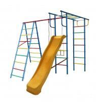 Детский спортивный комплекс УДСК «Вертикаль-А+П» дачный  с горкой 3,0 м