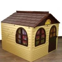 Домик детский со шторками, размер 130х130 см