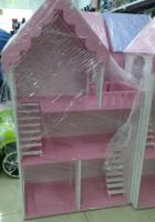 Дом для кукол 3 этажа