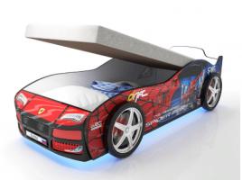 Кровать-машинка Турбо Спайдер с подъемным механизмом