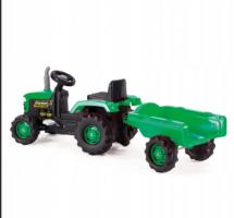 Электромобиль Трактор с полуприцепом