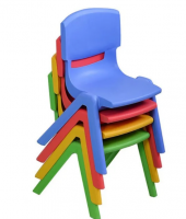 """Детский пластиковый стул """"Смайлик"""""""