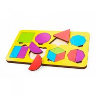 Игрушка детская: Вкладыш 14 элементов (по системе раннего развития) цвет в асс-те