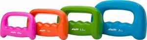 Гантель виниловая STARFIT DB-103 1 кг, оранжевая (1 шт.) 1/20