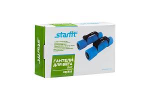 Гантель неопреновая STARFIT DB-203 2 кг, синяя (пара) 1/4
